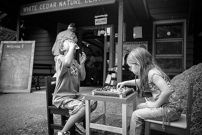 10 Years Ago  August 26, 2005 - Julia and Jacob play chess
