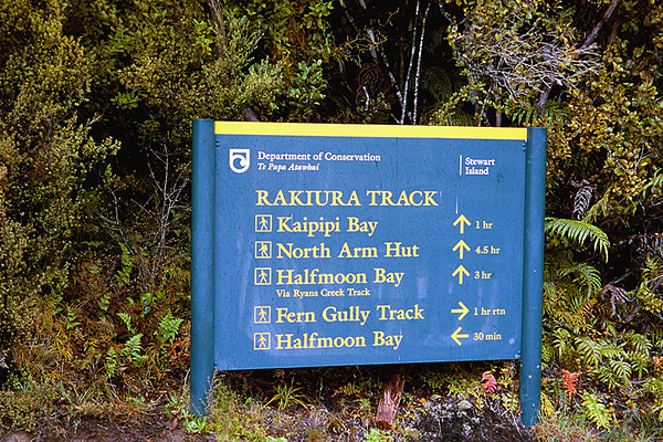 Day 1 of Rakiura Track On Stewart Island