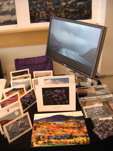 Booth at TCAH Holiday Bazaar 2005