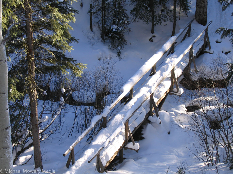 Bridge crossing Cornet Creek