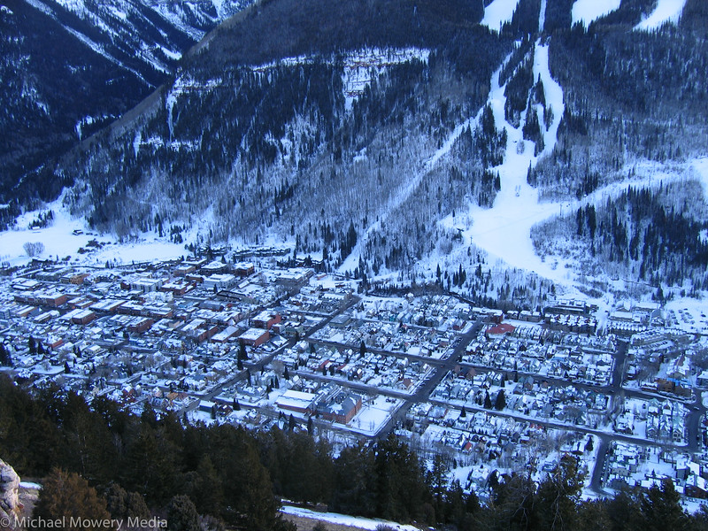 Town of Telluride Seen from the Jud
