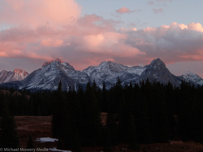 Sunset on Molas Pass