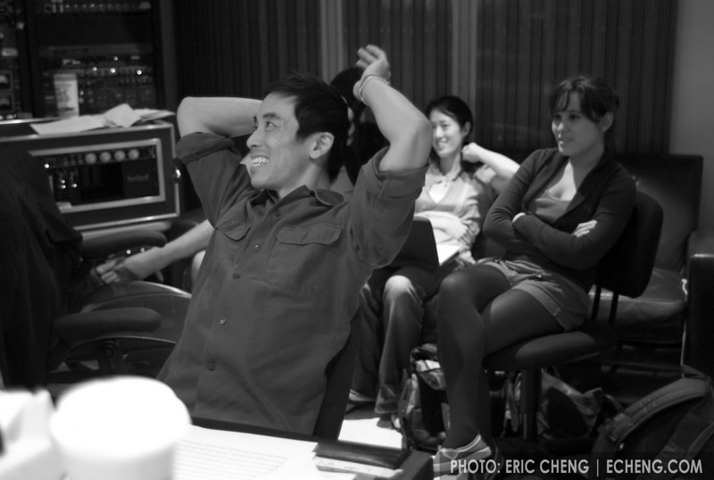 Alex Wong at Dubway Studios