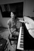 Vienna Teng plays piano at Dubway Studios