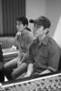 Vienna Teng and Alex Wong at Dubway Studios