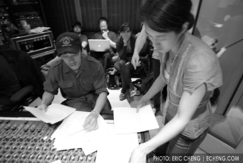Alex Wong and Vienna Teng at Dubway Studios