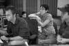 Vienna Teng and Alex Wong work with Eddie Jackson at Dubway Studios