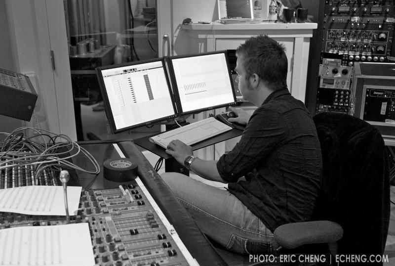 Eddie Jackson at Dubway Studios