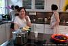 Ah-gim in the kitchen