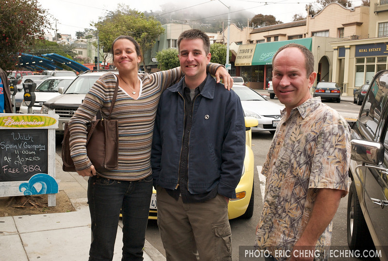 Mandy, Elliot, and Bill