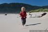 Roland plays on the beach
