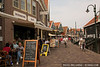 The tourist town of Volendam, Netherlands