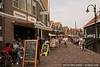 The tourist town of Volendam, Netherlands