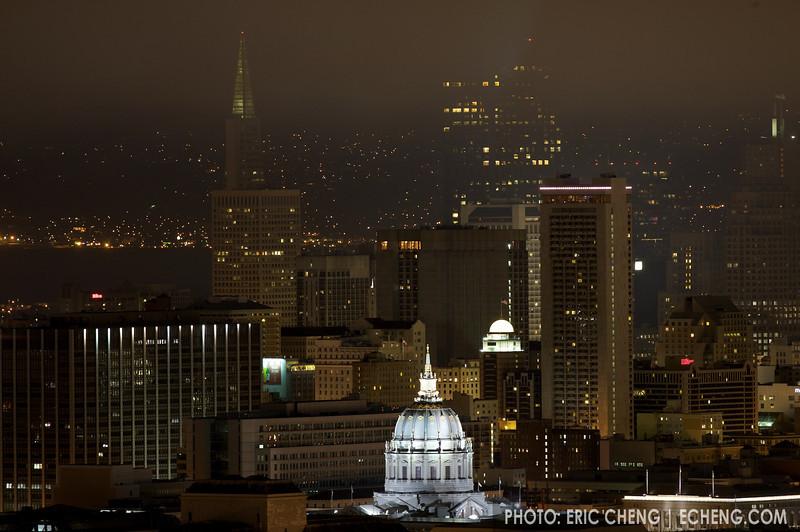 Downtown San Francisco, normal exposure