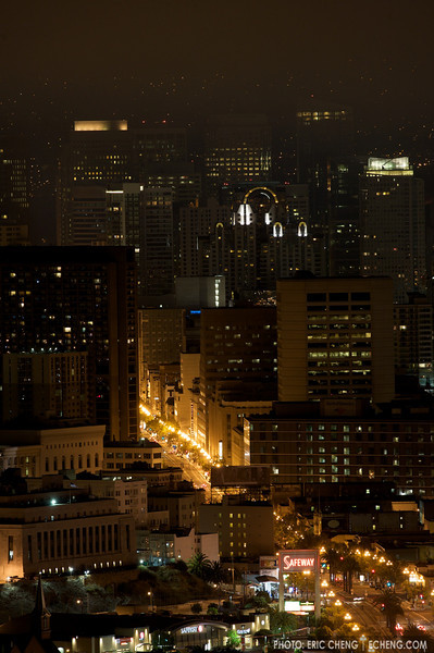 The Castro District and downtown San Francisco, normal exposure