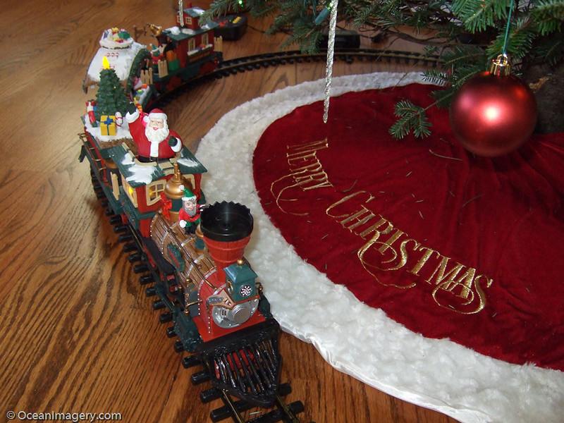 Julie's toy train.