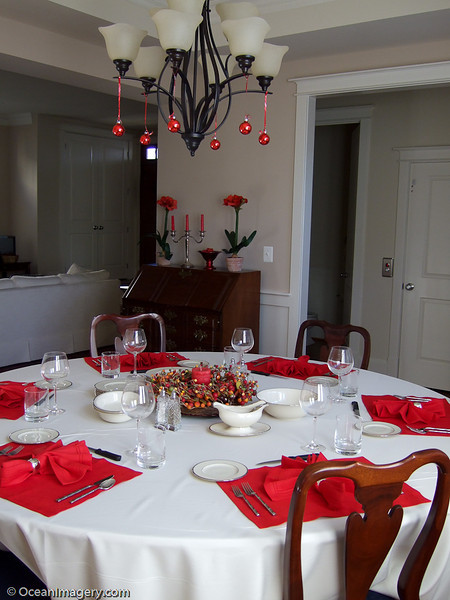 Hosting Christmas dinner for the first time.