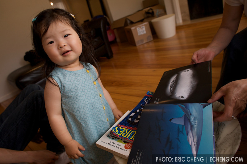 Wetpixel Quarterly is Ella's favorite book. She can name every animal in it.