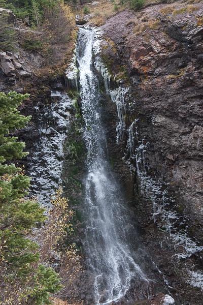 Sneffles Highline 2010: Mill Creek Falls