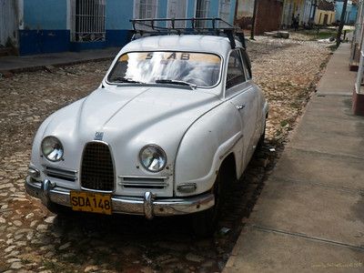1959 Saab original. One previous owner.