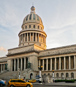 Capitol Building, Havana, modelled after Washington's