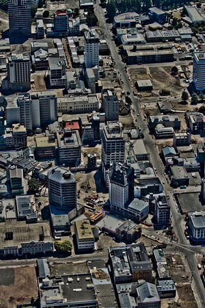Manchester and High Streets, PwC building top left. Enhanced for clarity.