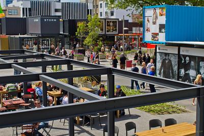 Christchurch Cashel Mall - Re-Start