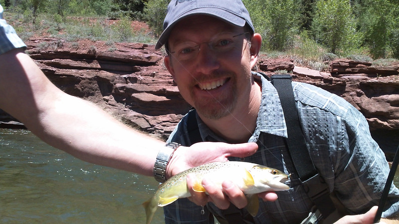 Fly Fishing Instruction with Sam