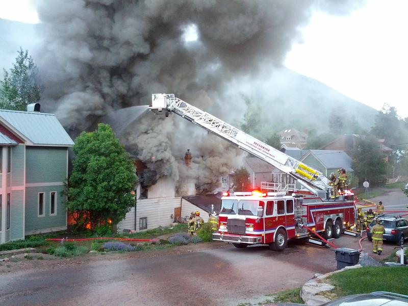 Funky House Burning