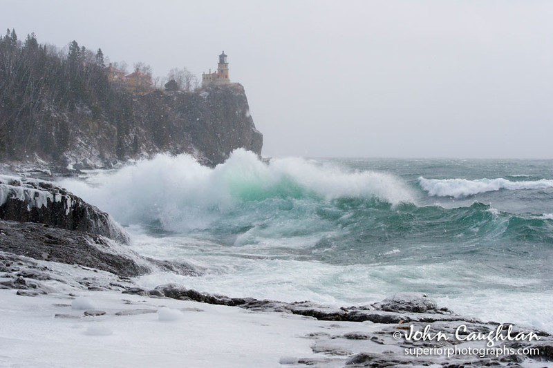 It wouldn't be a trip to the north shore without stopping at Split Rock Lighthouse. I was glad I did, the waves were pounding the shoreline with fury. Staying dry proved to be a challenge.