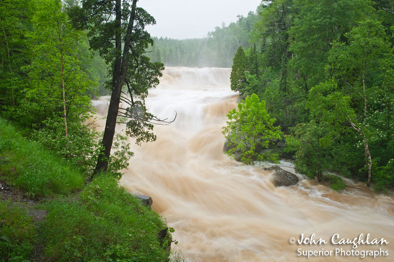 Next I drove up to Beaver River and shot a few images of the river overflowing its banks.