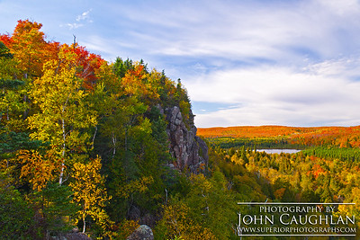 Oberg Mt. in its autumn glory. This image was taken late afternoon.