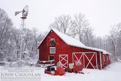 January 1, 2013  Fresh Snow & Vintage Snowmobiles