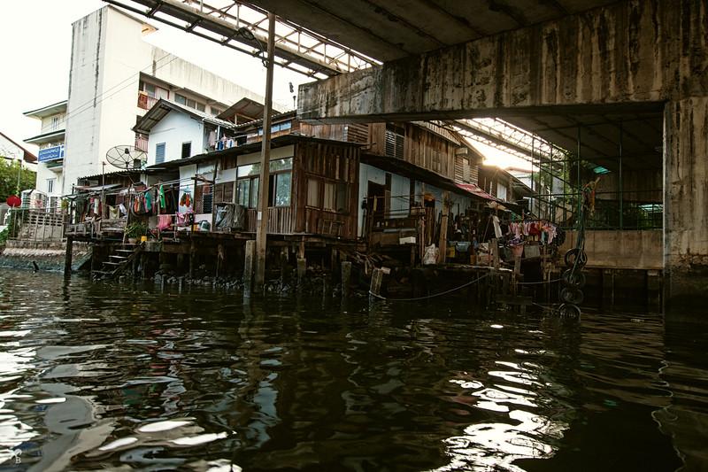 """Canal house"" in Bangkok."