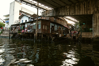 """Canal house"" in Bangkok."