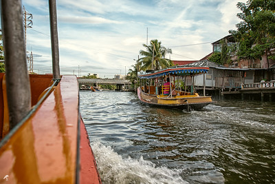 If you go to Bangkok and have a chance to take a longboat tour, don't miss out. Just be careful with the prices.