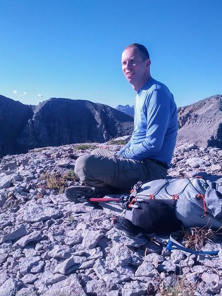 Palmyra Peak hike with Andrew