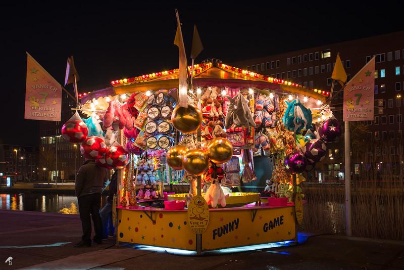 Kermis, Westerpark in Amsterdam