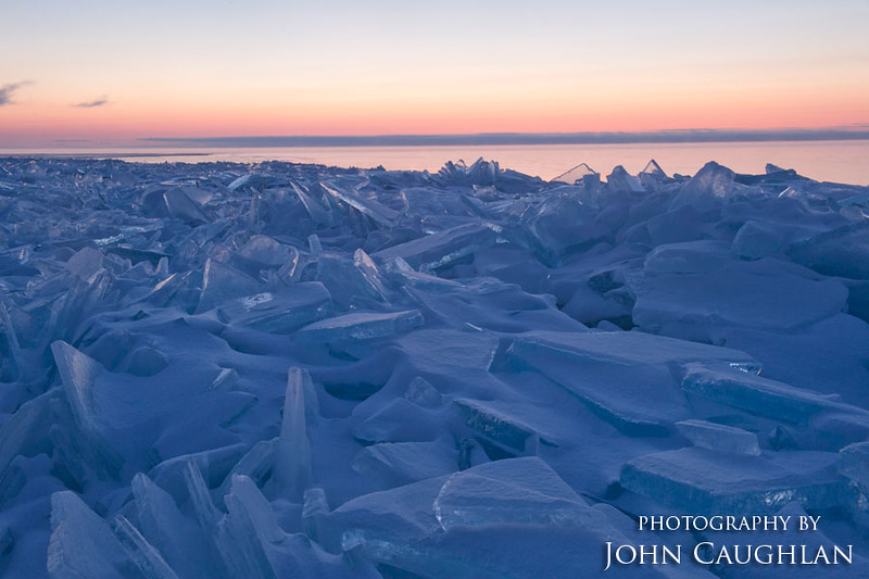 The ice piles always beckon to me to venture out.
