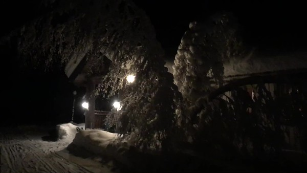 Arriving at Nature Point Paljakka (-21 degrees)