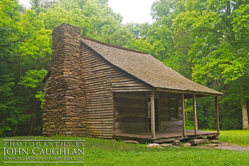 Carter Shield's cabin, Cade's Cove (Smokey Mountains).
