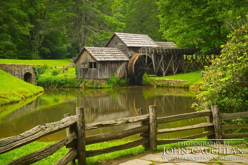 Old mill in North Carolina.