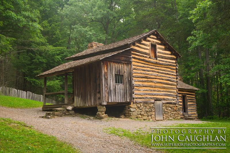 Elijah Oliver's cabin, Cade's Cove (Smokey Mountains).