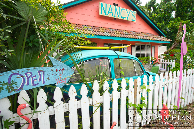 We drove by so many little gift shops. This one we had to stop and take a closer look.