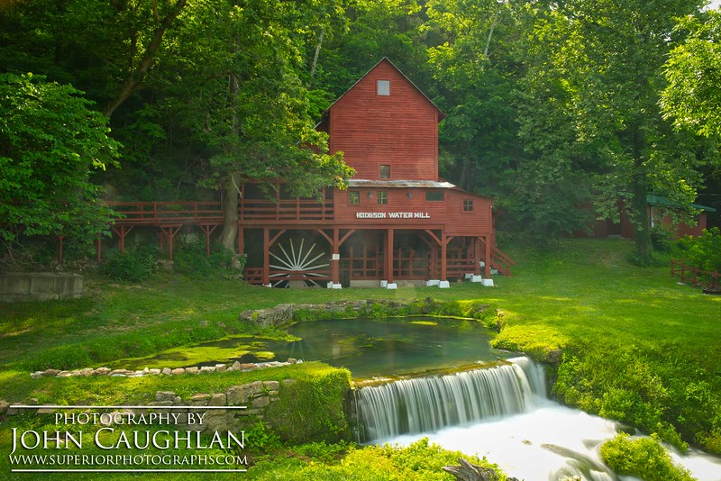 A photographer friend and myself did a road trip down south. We drove over 4,000 miles in six days. This was our first stop. It is the Hodgson Water Mill in southeast Missouri. You might recognize this mill because it is on every package of Hodgson Flour.