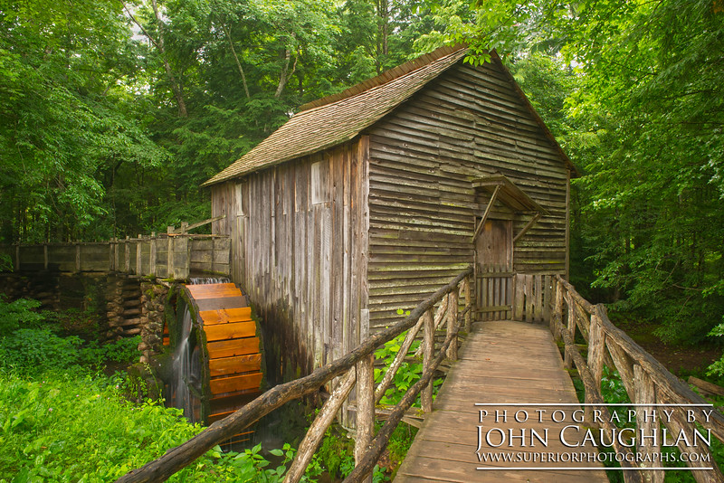 Here is the Cable Mill in Cade's Cove (Smokey Mountains).
