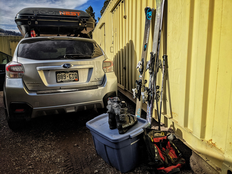 It's the #annual get your #ski #stuff out of #storage day.  Will there be a ski season?  Will I fill comfortable going skiing? Am I a bad person if I go skiing?  Or is ski mask, social distancing, outdoors enough not to be spreaders?  I really don't know?