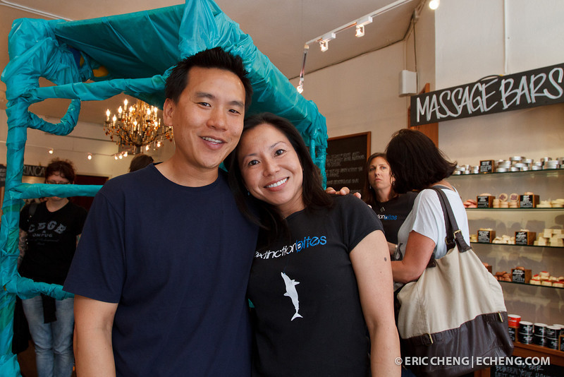 Eric Cheng and Sue Chen