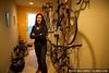 Jan in the bike room