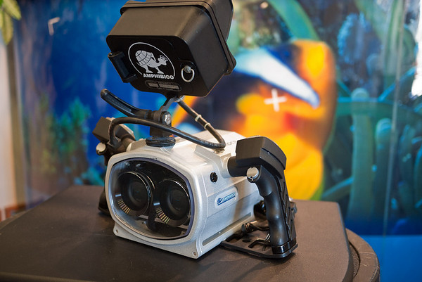 Amphibico's prototype 3D underwater housing